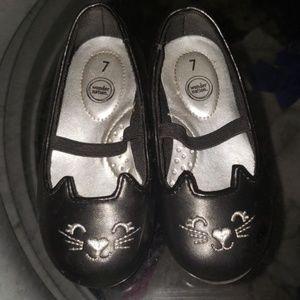 Toddler car shoes black size 7